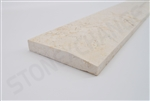 "Crema Polished Marble Threshold 4""x36""x5/8"" - Single Hollywood Bevel"