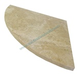 Travertine Corner Soap Shelf Shower Caddy 9""