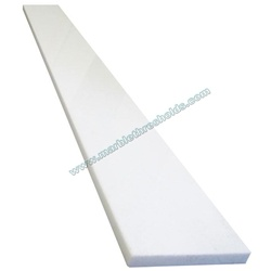 Pure White Agglomerate Stone Window Sill