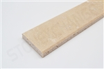 "Ivory Travertine Threshold Saddle 04""x36""x5/8"" Double Standard Bevel"